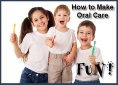 Dental Hygiene Fun. If you are the parent of young children, then you know what a challenge it can be to get them to take good care of their teeth. But all hope is not lost!