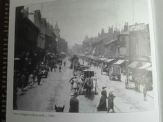 Briggate Leeds from Facebook page Leeds History