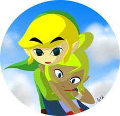 #TWW Link and Tetra couple by Snowflawkes