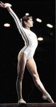 July 18th 1976   Nadia Comaneci earns the first of 7 perfect scores of 10 at the 1976 Summer Olympics held in Montreal Canada.