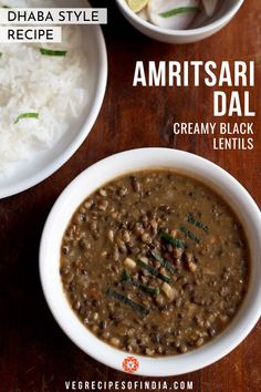 Langarwali Dal Recipe with step by step photos. This dal is called as amritsari dal as its a popular dal made in Amritsar. Its a slow cooked delicacy. Indian Dal Recipe, Indian Food Recipes, Ethnic Recipes, Lentil Recipes, Curry Recipes, Vegetable Recipes, Vegan Vegetarian, Vegetarian Recipes