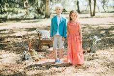 Turquoise Boy`s jacket, summer shorts; Girl`s long summer dress in coral colour. Coral Color, Colour, Long Summer Dresses, Summer Shorts, Kids Wear, Summer Collection, Fashion Brand, Fall Winter, Spring Summer