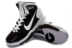 Nike Hyperdunk 2010 Mens Basketball Shoes - Black/White For $67.90 Go To:  http://www.cheapkobeshoesmall.com