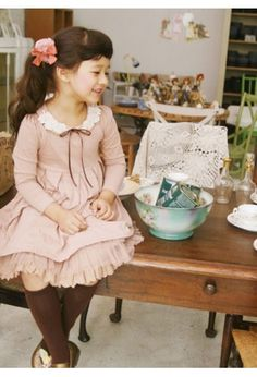 Can be a little spendy, but these are the most darling little girl dresses.