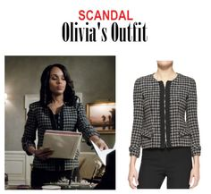 Discover recipes, home ideas, style inspiration and other ideas to try. Scandal Fashion, Fashion Tv, Fashion Outfits, Olivia Pope, Kerry Washington, Tweed, Neiman Marcus, Ring, March
