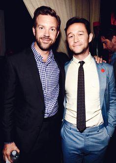 Jason Sudeikis and Joseph Gordon-Levitt at 2013 Spike TV Guys Choice