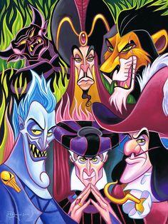 """Disney Fine Art:""""Misleading Men"""" by Tim Rogerson:)"""