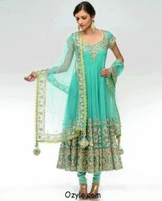 db971d869b54 Inspirational Stylish And Trendy Anarkali Suits 2014