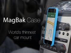 MagBak Case: World's thinnest car mount.'s video poster