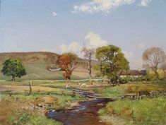 Extensive Landscape by WILLIAM ARTHUR LAURIE CARRICK - Cider House Galleries