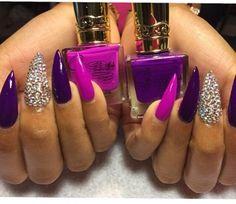 Beautiful stiletto nails