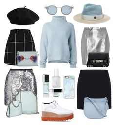 """""""#pastel"""" by roxyruan ❤ liked on Polyvore featuring Le Kasha, STELLA McCARTNEY, Topshop, Yves Saint Laurent, Balenciaga, Chanel, Fendi, Kate Spade, Proenza Schouler and Casetify"""
