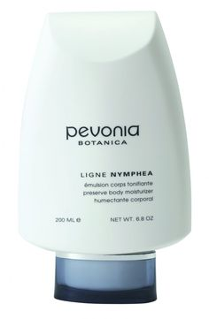 Pevonia's Preserve Body Moisturizer is rich in oils, vitamins and phyto-extracts. It soothes and tones; softens dry, rough and scaly skin