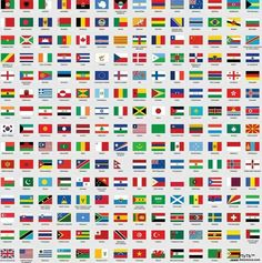 countries flags of the world