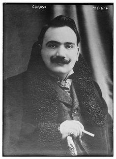 Enrico Caruso (LOC) Opera Singer