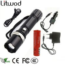 US $4.42 Z30110 lights & lighting portable light LED Tactical Flashlight Torch lanter search XM-L L2/T6 Zoom 5 Mode self defense LED Lamp. Aliexpress product