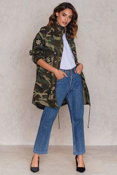 Love 33 Jacket Camouflage