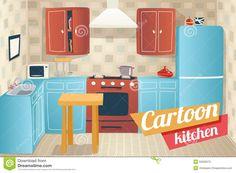 cozinha vintage desenho - Pesquisa Google