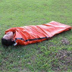 Camping & Hiking Emergency Sleeping Bag Thermal Waterproof For Outdoor Survival Camping Hiking Camp Sleeping Gears Sleeping Bag Unequal In Performance