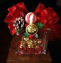 Jingle decorative glass block