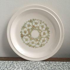 Hornsea Fleur side plate by CupandSaucerUK on Etsy