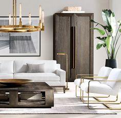 Contemporary Interior Design, Contemporary Furniture, Interior Design Living Room, Living Room Designs, Contemporary Living Room Furniture, Traditional Furniture, Contemporary Home Decor, Modern Room, New Living Room