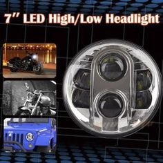 "Eyourlfie Pair 7"" LED Replacement Headlights - Oh Kiji"