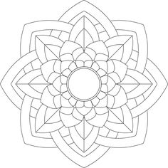 Mandala Monday Free Download To Colour In 15