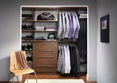 Men's Closet Ideas | Master Closet Design Ideas for an Organized Closet