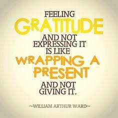#Gratitude #GiveThanks #Blessings