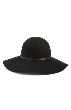 Main Image - Hinge Floppy Wool Hat
