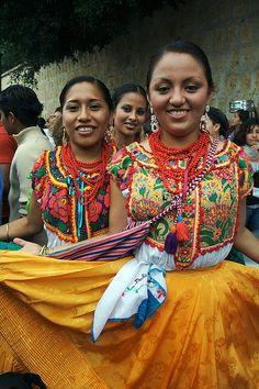 Guelaguetza, Oaxaca's festival by Tomo Saito, via Flickr #Oaxaca #Mexico