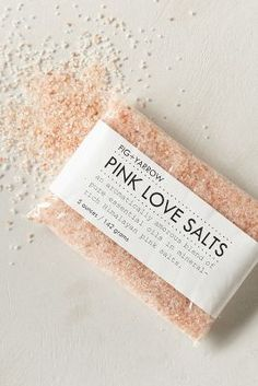 Fig + Yarrow Pink Love Bath Salts