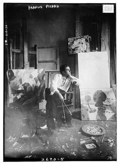 Francis Picabia (Jan. 22, 1879 - 1953) - French artist (painter...the artist that rebelled against the rebels. Always raising cain with the establishment of modern artist at the time.
