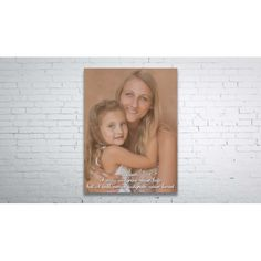 Mother's Day Canvas  A beautiful gift for your mum this mother's Day. Personalised with the photo of your choice. Complimentary photo editing is included.  100% cotton canvas UV proof inks Lifetime fade resistant guarantee Free hanging kit Free UK mainland shipping