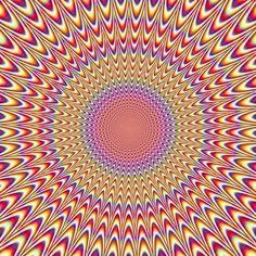 Ilusão de óptica: a imagem psicodélica que não para de se mexer