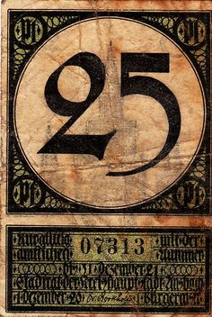 Unsbach, 25 pf, 1920