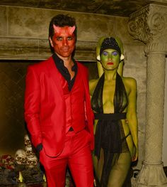 Pin for Later: This Year's Best Halloween Costumes From Hollywood Heartthrobs John Stamos as a Devil