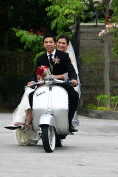 #ridecolorfully To the Honeymoon