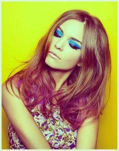 70's influence #makeup #eyes
