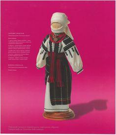 The doll in Podolian folk costume by @yurkom0320