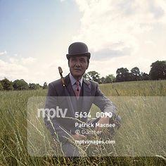 "Patrick Macnee as John Steed in ""The Avengers"" TV series, 1968. : Gunther // #mptvimages"