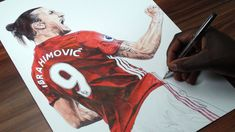 Ibrahimovic Drawing That Surprised The Audience