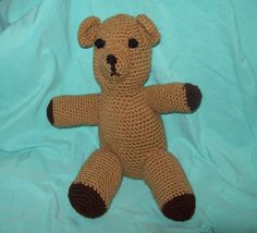 Hey, I found this really awesome Etsy listing at https://www.etsy.com/listing/80850851/teddy-bear-stuffed-animal-toy-crochet