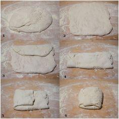 Pizza con impasto Bonci a lievitazione naturale Home Baking, Calzone, Brunch Recipes, Biscotti, Love Food, Buffet, Food And Drink, Cooking Recipes, Bread