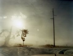Todd Hido-messing up the untouched snow!!