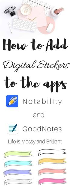 If you don't know how to add digital stickers to your digital planner, this is a good source.  You can buy digital stickers on sites like Etsy or you can make your own.  I have bought a few, but I enjoy making my own, so much fun!