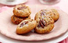 Pecan and cranberry biscuits