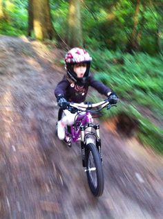 5 Year Old Mountain Biker My year old daughter