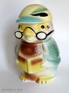 Bird Cookie Jar  I HAVE THIS COOKIE JAR